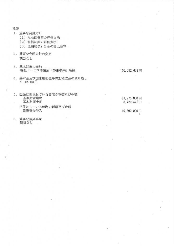 事業報_注 記_26年度